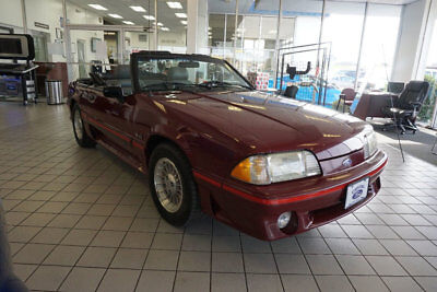 1989 Ford Mustang 2dr Convertible GT FORD MUSTANG GT CONVERTIBLE FOX BODY