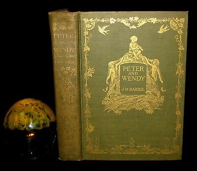 1911 Rare Book - Peter Pan 1ST Edition - Peter and Wendy by James Matthew Barrie