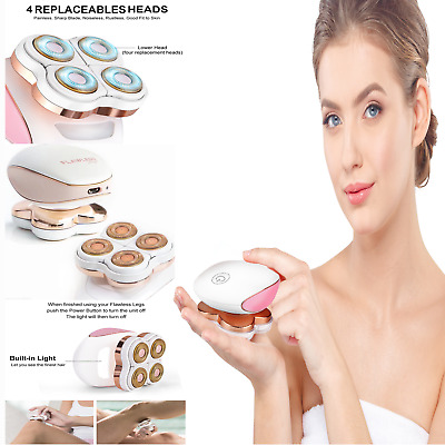 Women Legs Hair Removal Rechargeable Painless Flawless Epilator Unisex Device