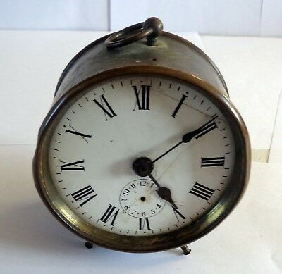 Vintage Brass Clock Possibly Military/ww1?: Restoration Project