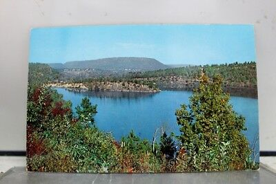 Arkansas AR Paris City Lake Horseshoe Mountain Postcard Old Vintage Card View PC