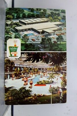 Louisiana LA Kenner Holiday Inn Solardome Postcard Old Vintage Card View Post PC