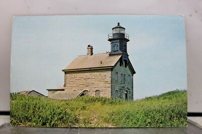 Rhode Island RI Block North Light Postcard Old Vintage Card View Standard Post