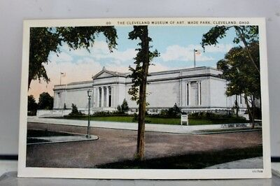 Ohio OH Cleveland Museum of Art Postcard Old Vintage Card View Standard Souvenir