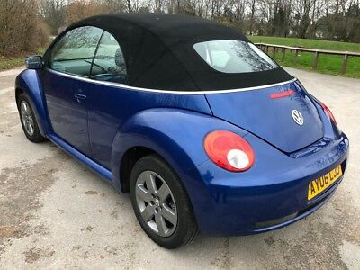 2006 Vw Beetle Luna 1.6 102Ps Convertible Power Roof Just 74K Miles Very Clean