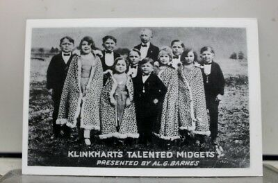 Scenic Klinkharts Talented Midgets Postcard Old Vintage Card View Standard Post