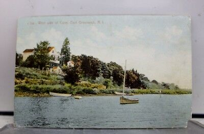 Rhode Island RI Cove East Greenwich Postcard Old Vintage Card View Standard Post