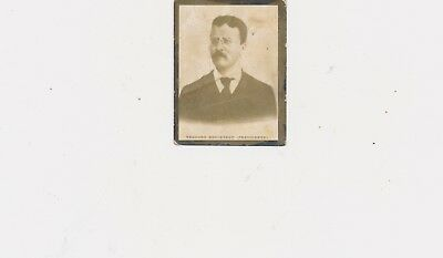1905 Vintage Photo Theodore Roosevelt Made in Cuba Caption in Spanish on Back
