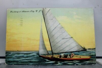 New Jersey NJ Atlantic City Postcard Old Vintage Card View Standard Souvenir PC