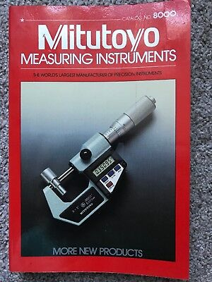 MITUTOYO MEASURING INSTRUMENTS CATALOG No.8000
