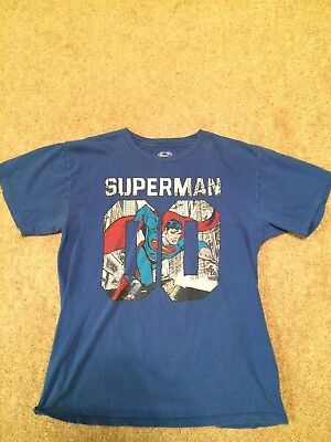 Vintage Retro Superman Child's T-Shirt (XL)