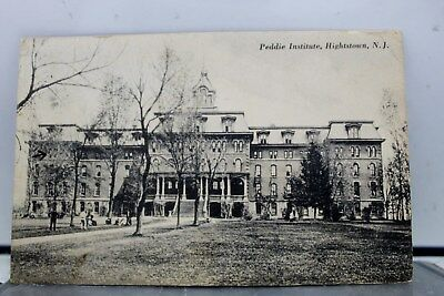 New Jersey NJ Peddie Institute Hightstown Postcard Old Vintage Card View Post PC