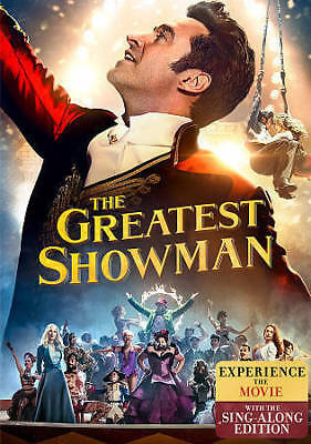 The Greatest Showman (DVD, 2018) NEW free first class shipping