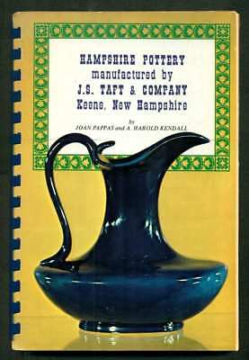 HAMPSHIRE POTTERY COPYRIGHT 1971 BY JOAN PAPPAS and A HAROLD KENDALL