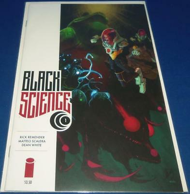 2013 Image Comics Black Science #01 Comic Bagged & Boarded