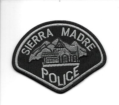 Sierra Madre, California police patch