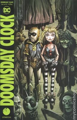 Doomsday Clock (DC) #6A 2018 Frank Variant NM Stock Image
