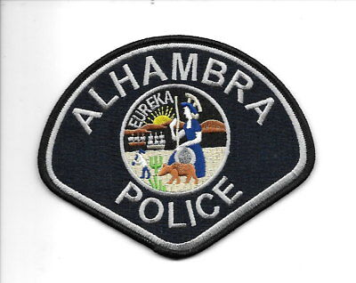 Alhambra, California police patch