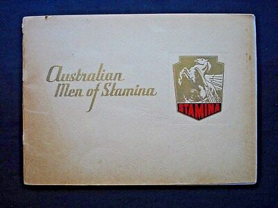 Stamina Clothing *Australian Men Of Stamina* Full Colour Booklet