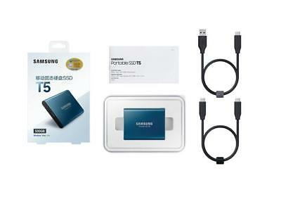 250GB SSD Samsung T5 USB3.1 TYPE C Portable External Solid State Drive F.MAC PC