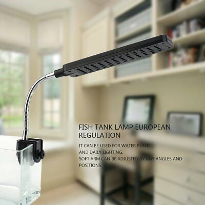 48 LED Aquarium Fish Light Plant Grow Clip-on Lamp Adjustable Arm Light