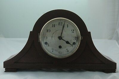 Antique/vintage Oak Case Westminster Chimes Mantle Clock.