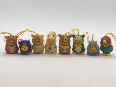 Disney Winnie the Pooh Figure Peek-A-Pooh Set Of 8 Animal series #5 Charm New