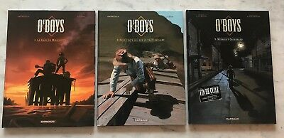O'BOYS 3 tomes édition Dargaud