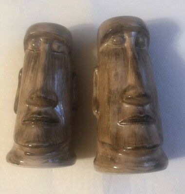 Vintage Disneyland Tiki Salt And Pepper Shakers Made In Japan