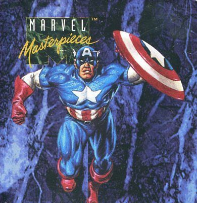 Marvel 1993 Masterpieces 1 Sealed Tin Set Case - Skybox - 6 Brand New Tin Sets