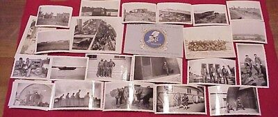 Vintage WW2 WWII US Navy Seabees CB D-Day Photo Grouping Cherbourg LeHavre DUKW
