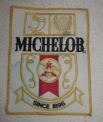 Michelob Beer Patch Large Embroidered Ale 7.5""