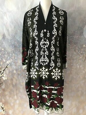 Bn Pakistani Salwar Kameez Kurta Bollywood Indian Dress Top Sz Xl Ilace