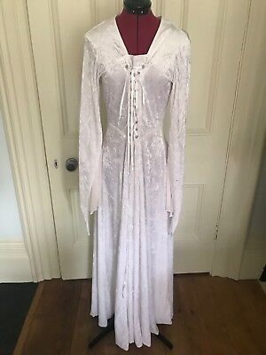 Pantomine Theatre Stage Gothic Medieval White Dress
