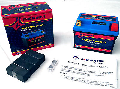 FeatherWeight Lithium Battery 150CCA 12V 29Wh Replaces YTX7L-BS - For , Scooter