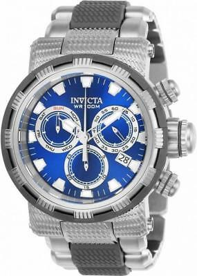 Invicta Specialty 23975 Men's Round Blue & Gray Chronograph Date Analog Watch