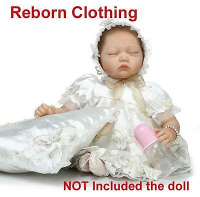 "For 20-22""Reborn Clothing Reborn Doll Baby Girl Clothes Outfit NOT Included Doll"