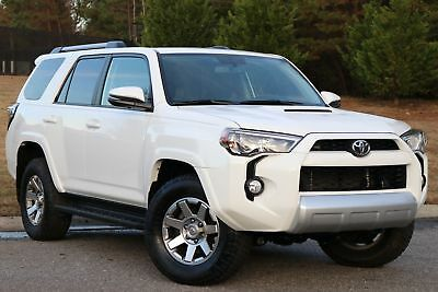 2016 Toyota 4Runner Trail Premium 4X4 2016 4 RUNNER TRAIL PREMIUM,4X4,ALL PWR,SUNROOF,50K MI LIKE NEW IN AND OUT.