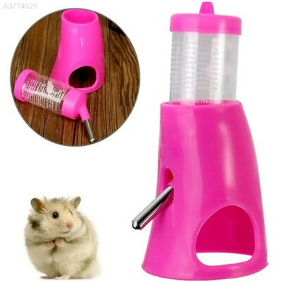 F676 80ml Hamster Rat 2-in-1 Drink Water Bottle Cooling Room House Detachable To