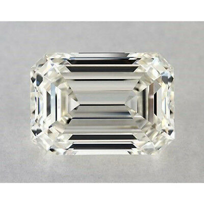 1 CT to 5 CT Loose Moissanite Off White Yellow Emerald Brilliant Cut 4 Ring