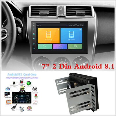 "Touch Screen Android 8.1 7"" 1+16G Car Stereo Radio GPS Wifi 3G 4G Mirror Link"