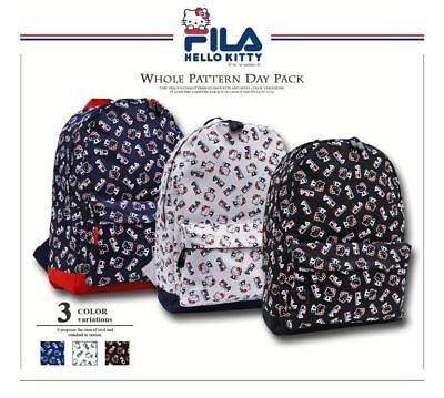 FILA x HELLO KITTY Daypack Backpack School Bag in 3 Colors Sanrio JAPAN F S 74912a8a95c0e