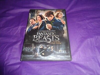 Fantastic Beasts and Where to Find Them (DVD, 2017)