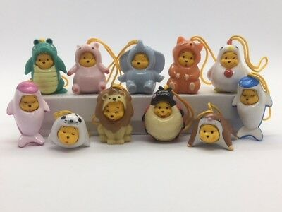 Disney Winnie the Pooh Figure Peek-A-Pooh #2 & #3 series set of 11 pieces
