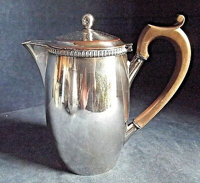 "GOOD Large 8"" ~ SILVER Plated ~ GEORGIAN ~ Water JUG ~ c1825"
