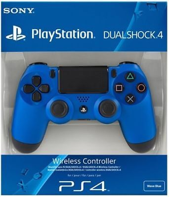 PS4 DualShock 4 Controller Wave Blue V2^BRAND NEW SEALED OFFICIAL^