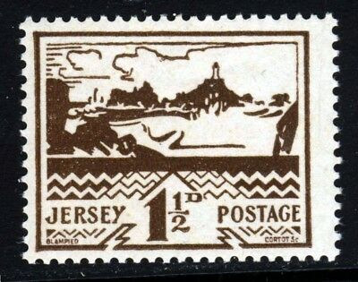 JERSEY 1943 GERMAN OCCUPATION 1½d. Brown SG 7 MNH