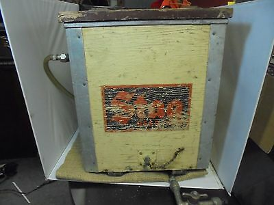 Antique Stag Beer Draft Beer Wood Chest Cooler Tap Rare Coil Cooler IL Bar