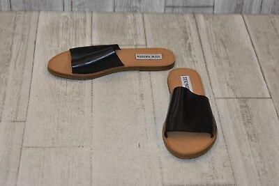 adf7ea1413e STEVE MADDEN GRACE Slide Sandals-Women s size 5.5 M Black -  26.00 ...