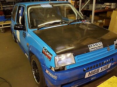 Renault 5 Gt Turbo Hill Climb Rally Car Blue Project 1990
